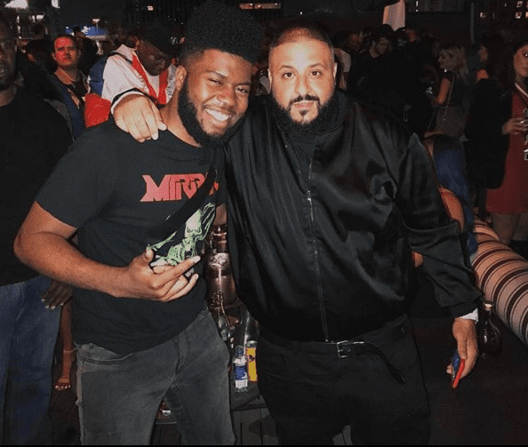 DJ Khaled's #GRATEFUL Listening Party f. Amber Rose, Joey Badass, 21 Savage, French Montana, Khalid, Macy Gray & Ella Mai; boohooMan x Tyga Launch Party at the P