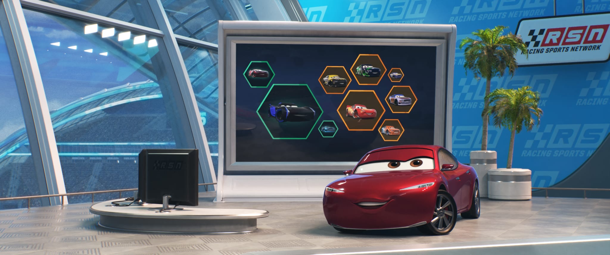 Disney Pixar's #Cars3 Comes To Life At El Capitan Theatre In Hollywood