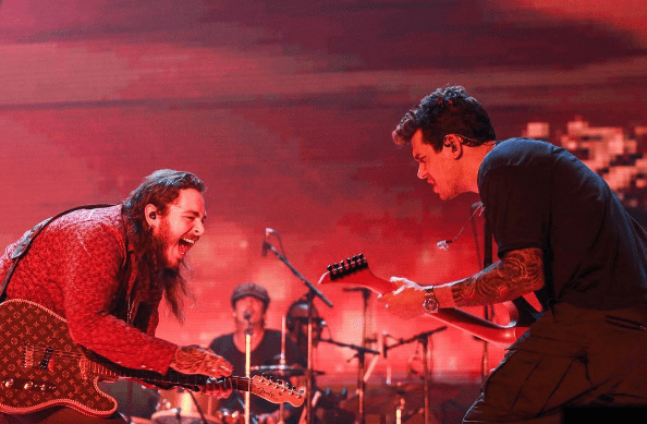"John Mayer Brought Out Post Malone & Covered Beyonce's ""XO"" At His Sold Out Show In Los Angeles"