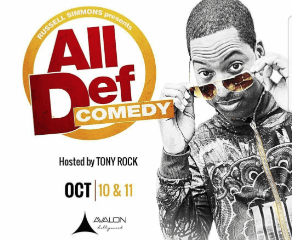 HBO Live Taping Of All Def Comedy Hosted By Tony Rock At Avalon Hollywood
