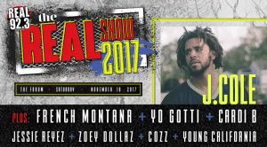 Real 92.3's The Real Show f. J. Cole @ The Forum | Inglewood | California | United States