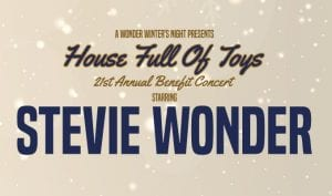 Stevie Wonder: House Full of Toys @ STAPLES Center | Los Angeles | California | United States