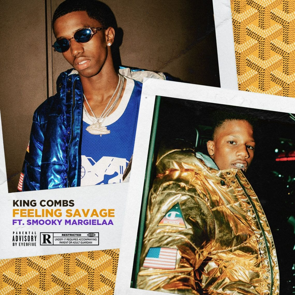 "King Combs & Smooky Margielaa of A$AP Mob Are ""Feeling Savage"""