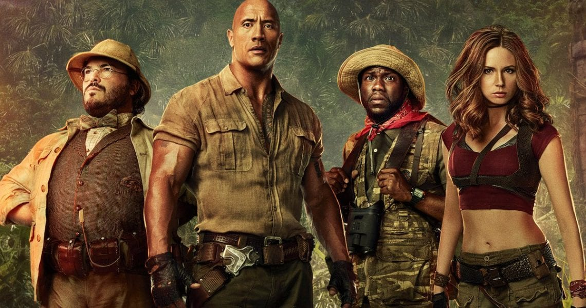 Jumanji: Welcome to the Jungle (f. Dwayne Johnson & Kevin Hart) Is The Perfect Holiday Movie