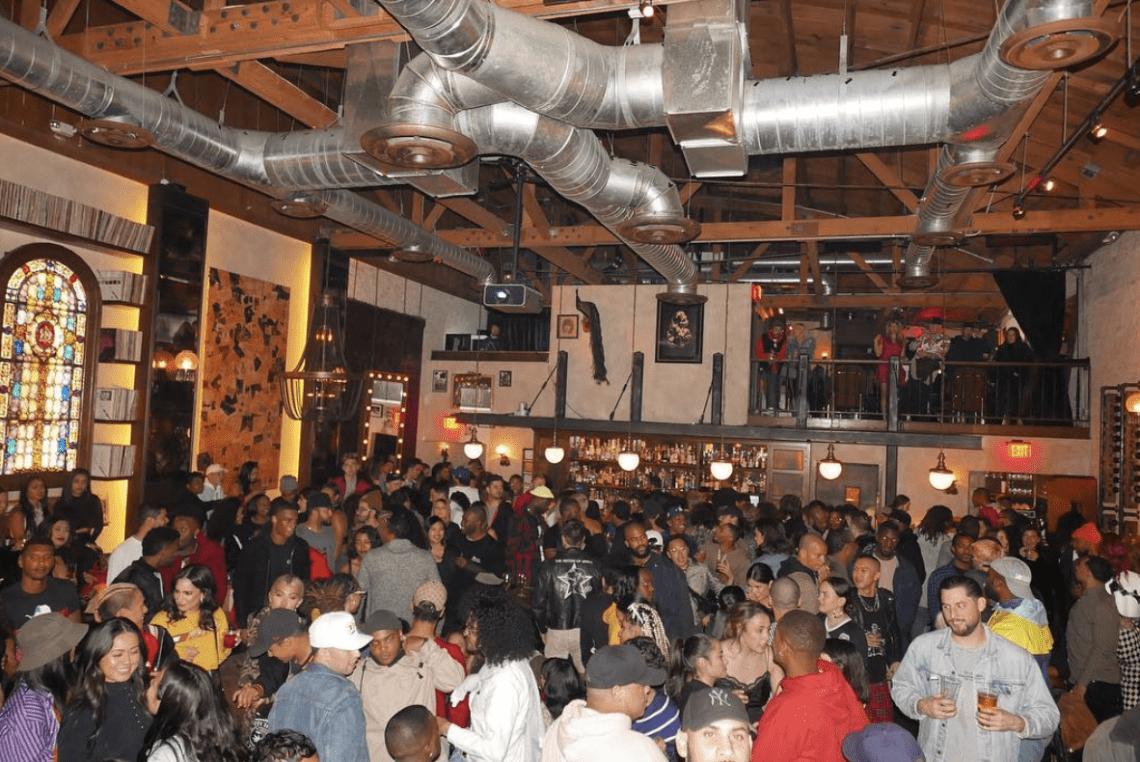 1st Annual Above Ground Holiday Party Takes Over No Name On FairFax