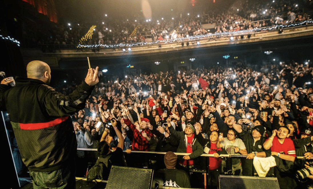 Berner Brought Out Scott Storch, P-Lo, Kool John & Messy Marv At Cookies Xmas In San Fran