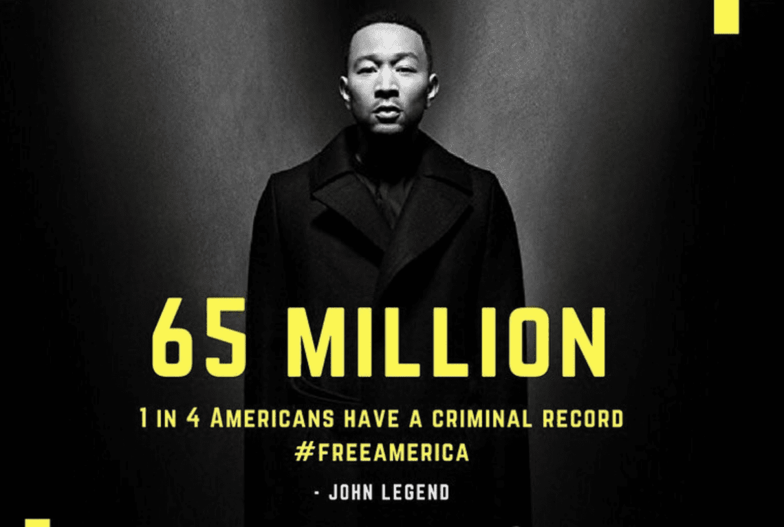 """John Legend Performs """"Glory"""" At Into Action In Los Angeles"""