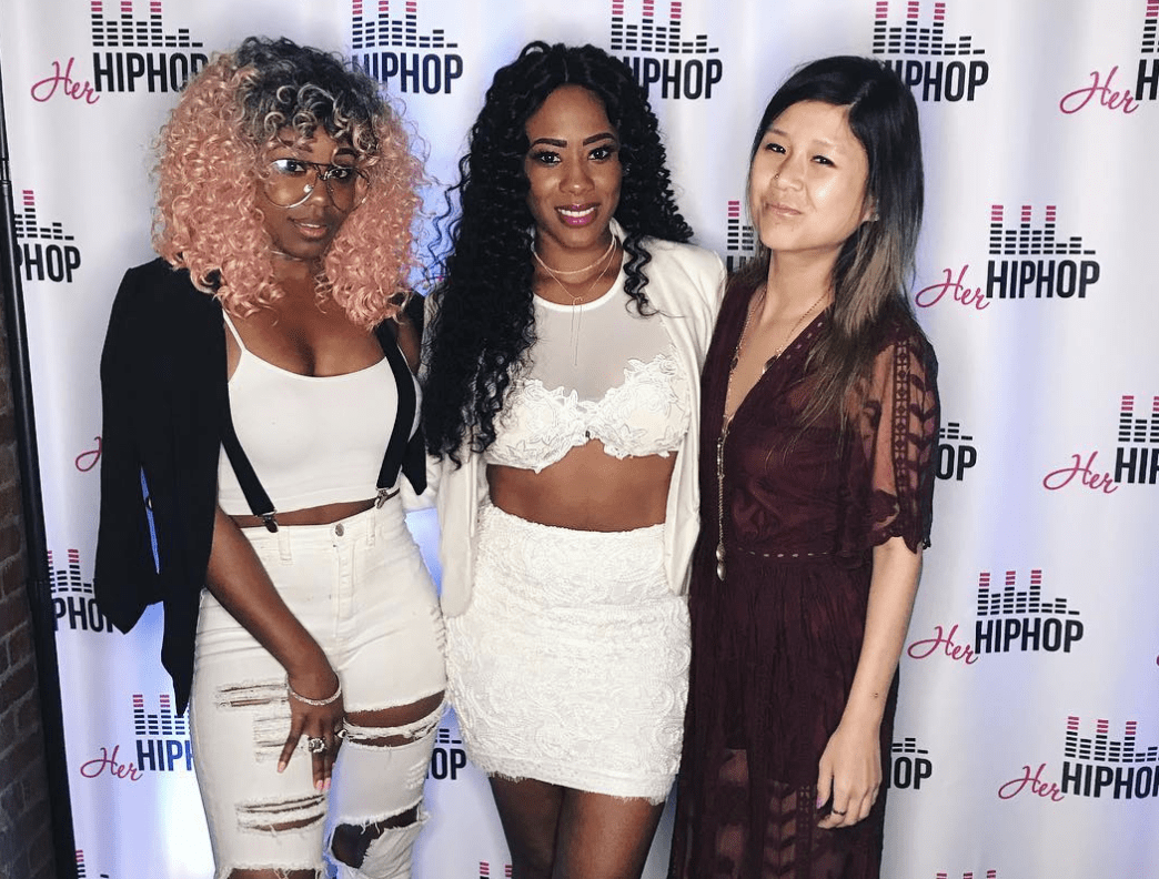HerHipHopLA's 2nd Anniversary Soiree At Bar Lubitsch f. Ruepratt, Marley Waters, Abrina & Young Blacc