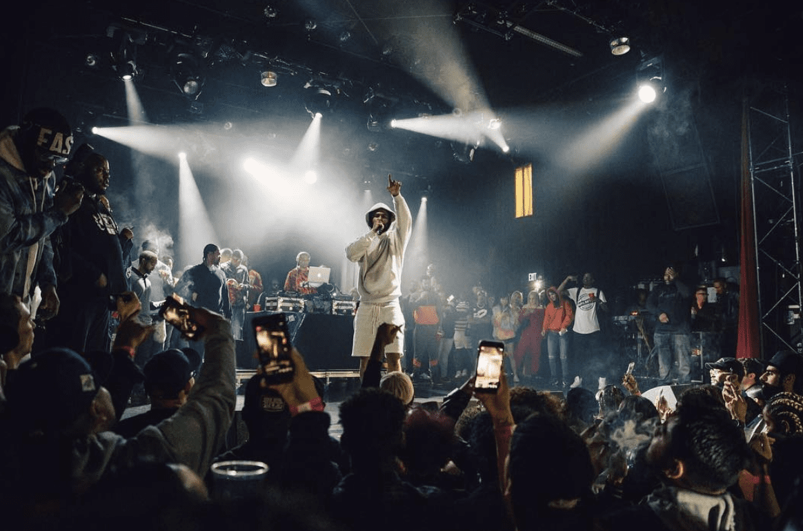 Dave East Cries On Stage For The First Time On His #P2Tour