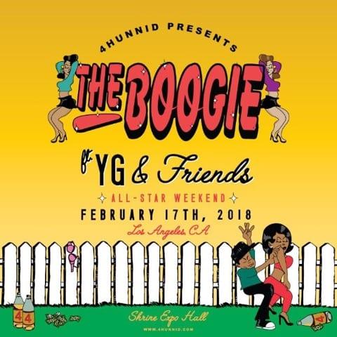 """THE BOOGIE"" FEAT. YG, DJ MUSTARD, LIL PUMP & MORE"