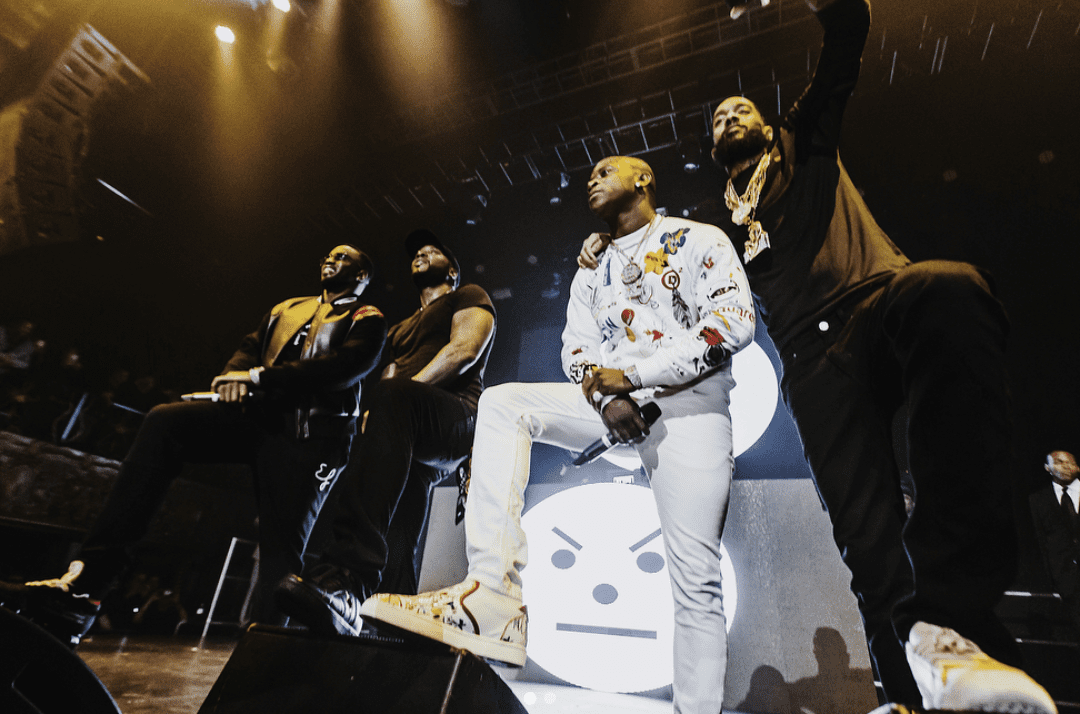 Jeezy Made History Bringing Out Diddy, Nipsey Hussle & O.T. Genasis In Los Angeles