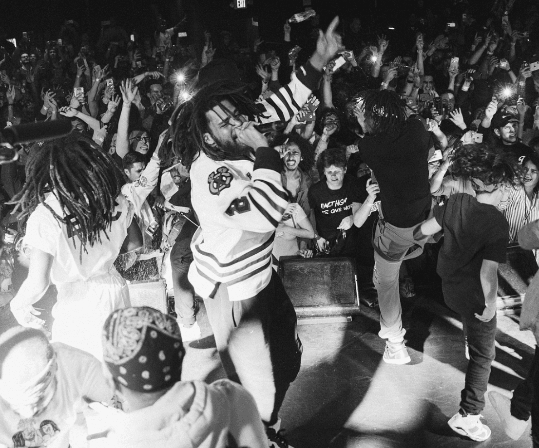"J. Cole Called JID ""The Future"" At His Sold Out Show At The Roxy"
