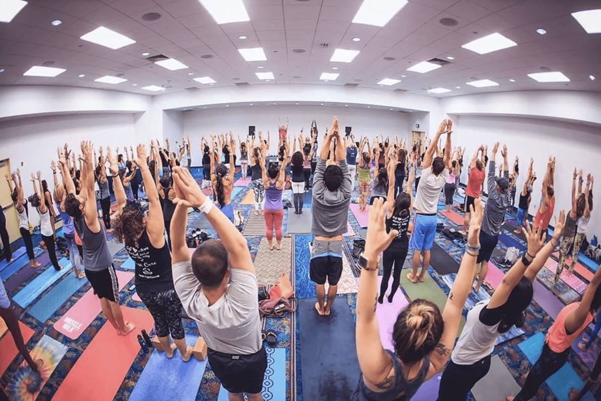 The Yoga Expo — The Largest Yoga Festival In North America — Takes Over Los Angeles
