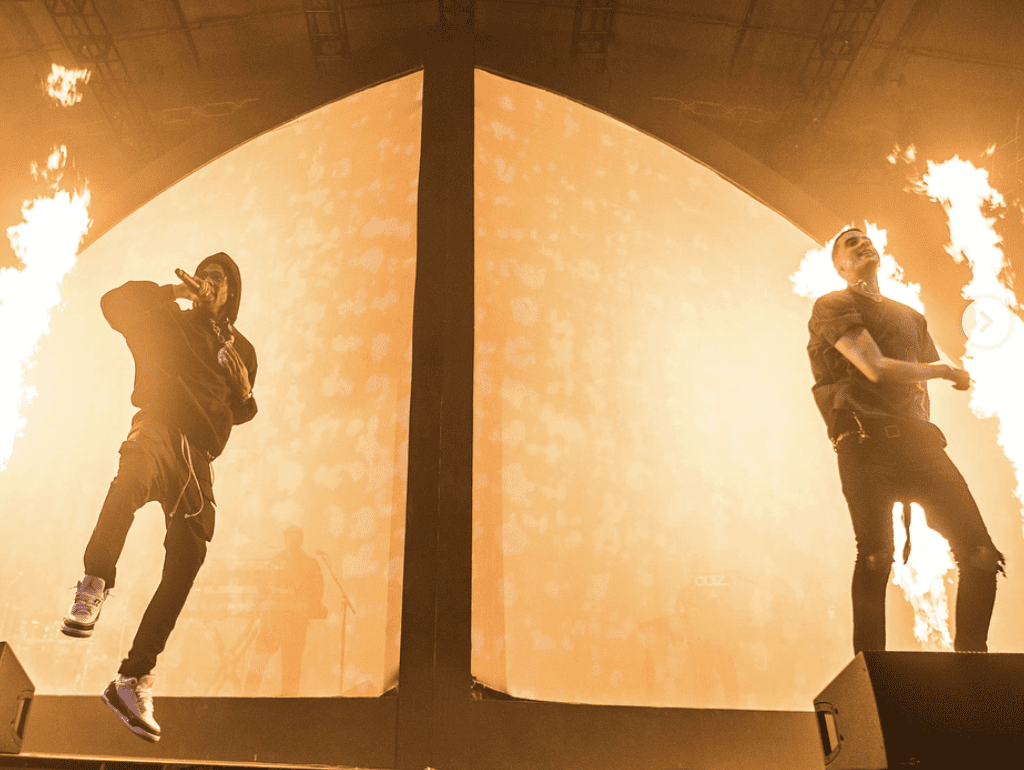 G-Eazy Brings Out Travis Scott & Marc E. Bassy At 3rd Sold-Out Show On The Beautiful & Damned Tour