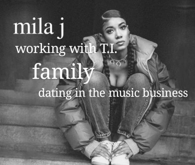 Mila J On Working With T I , Mike Epps, DC Young Fly, Lil